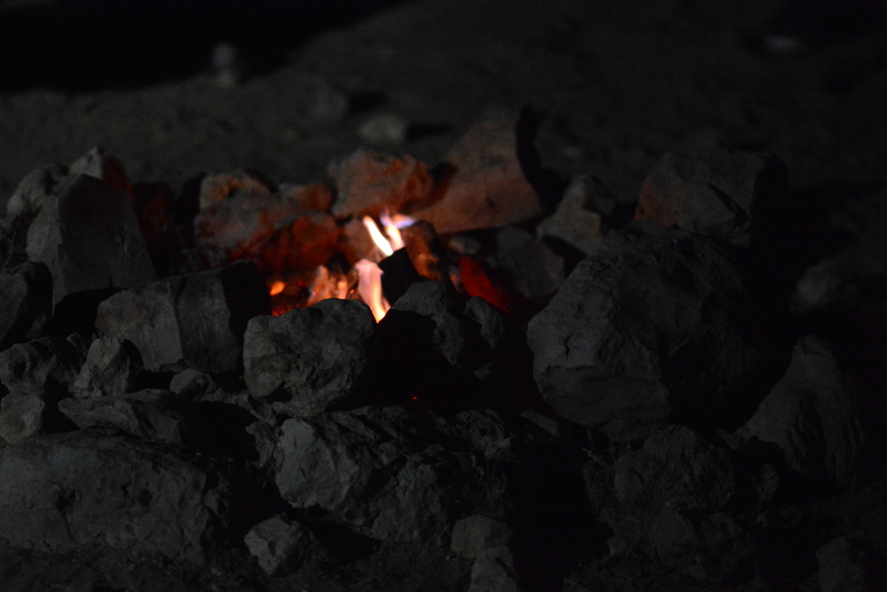 Płonie ognisko... na pustyni