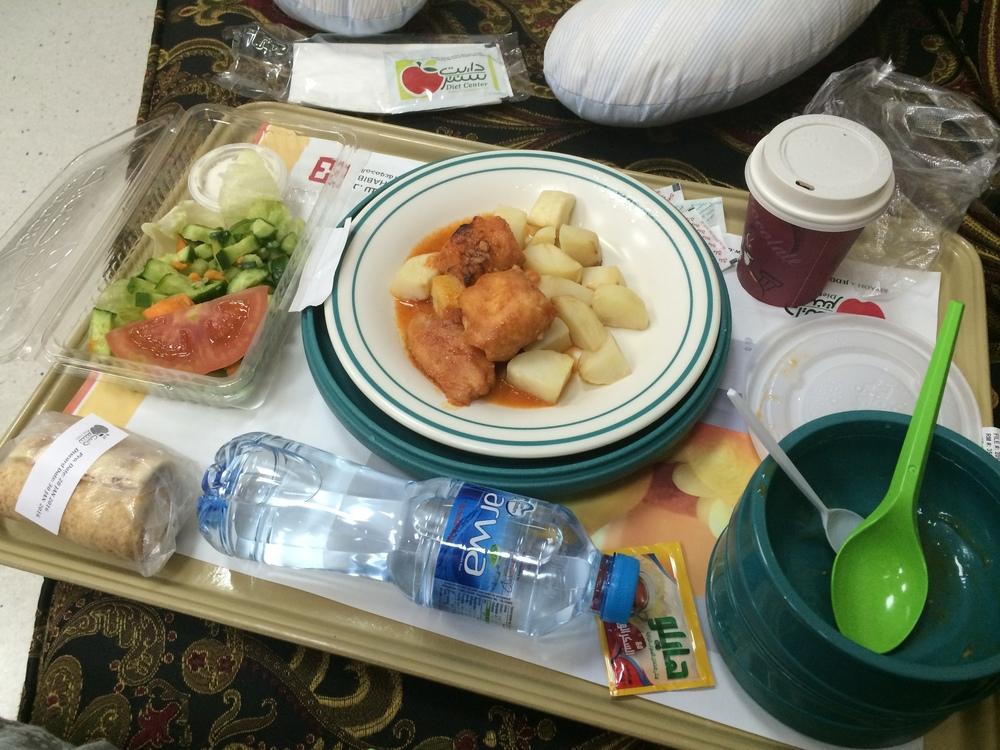 Tak mnie więcej wyglądały posiłki: