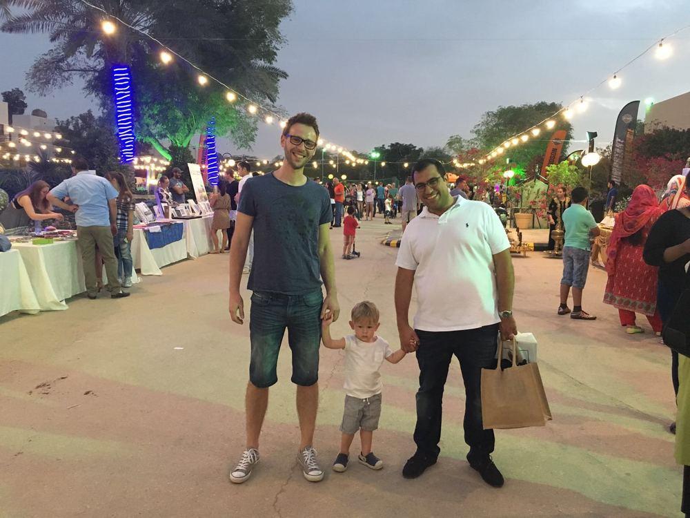 Tomek, Bruno i Kareem