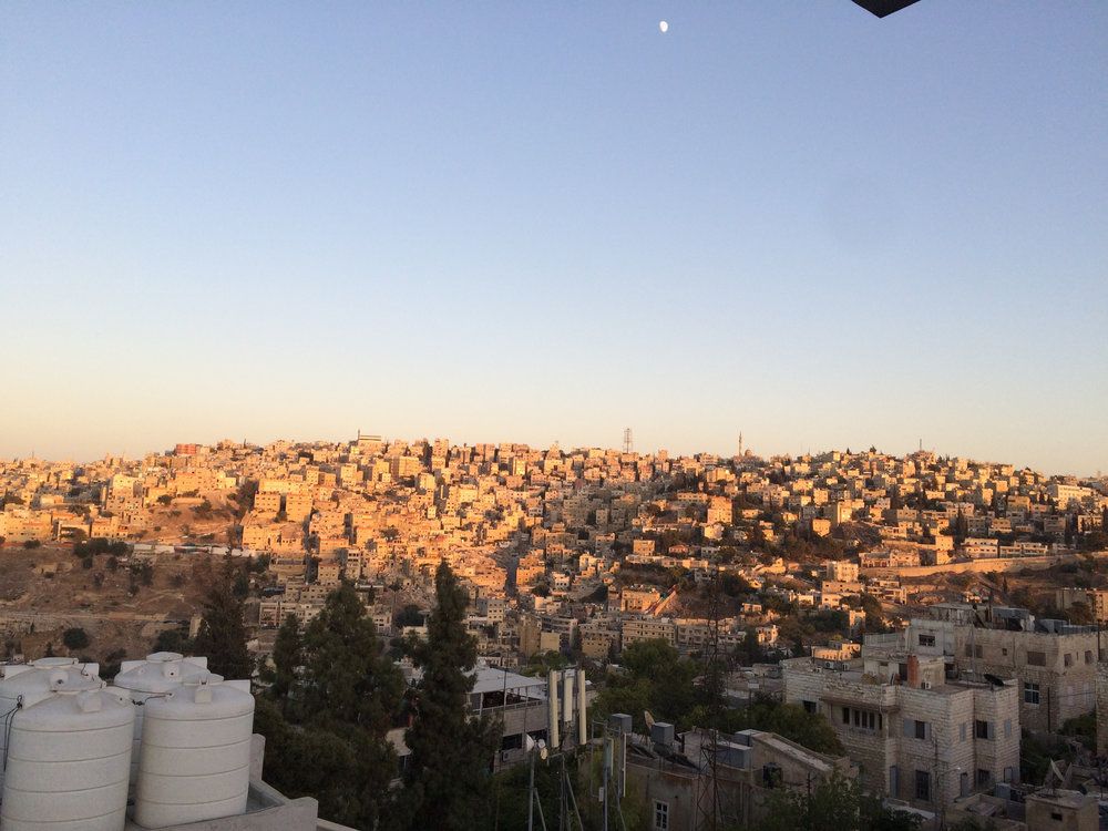 Stara część Ammanu.