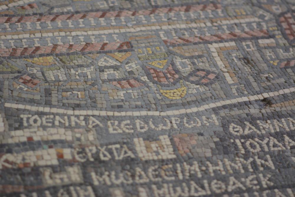 Do ułożenia mapy użyto ponad dwóch milionów tesser do mozaik.