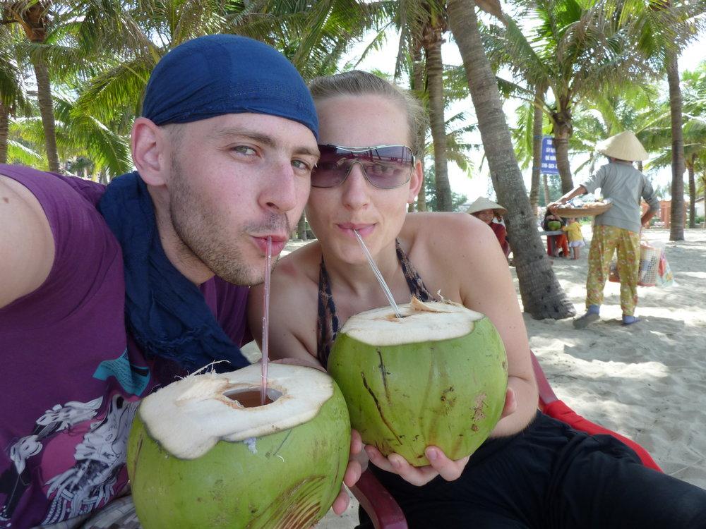 Rurka w kokos i ślurb!