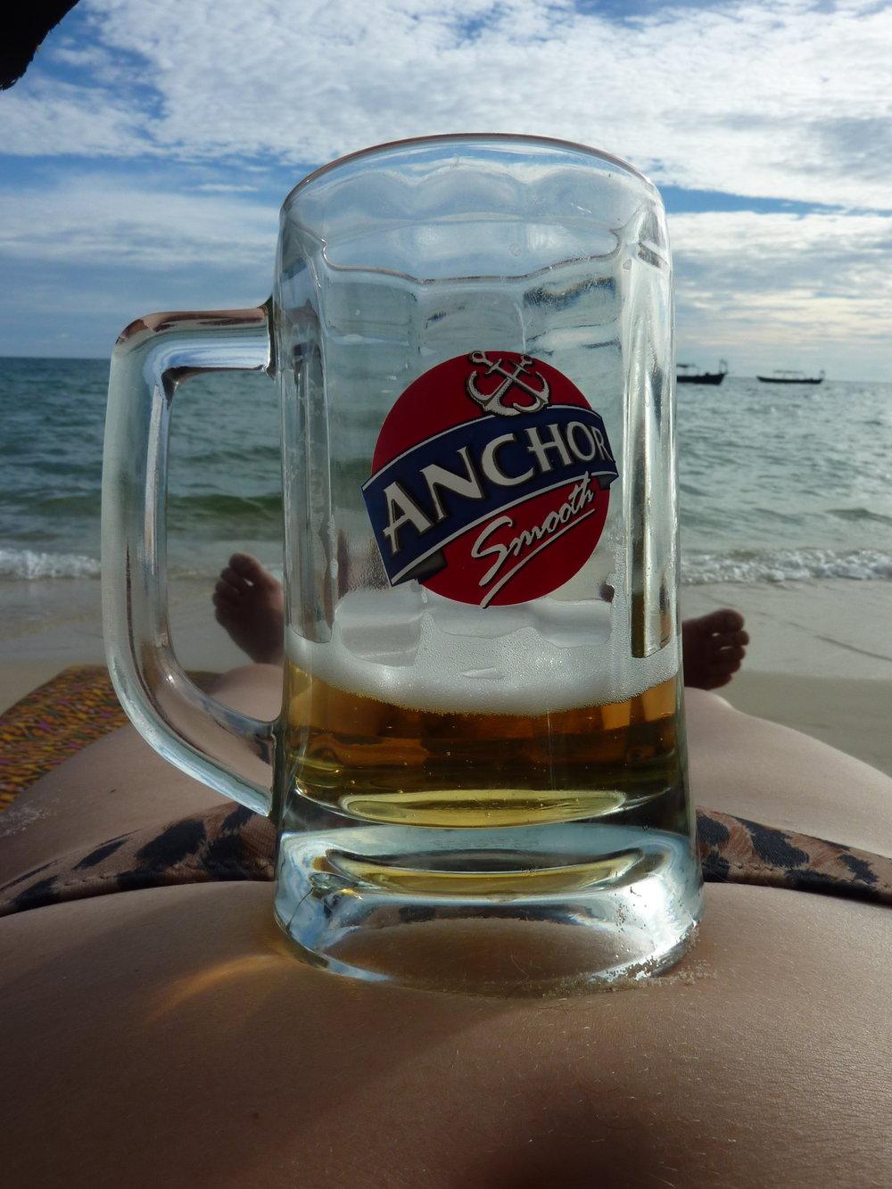 Najbardziej popularne piwo w Kambodży ;)