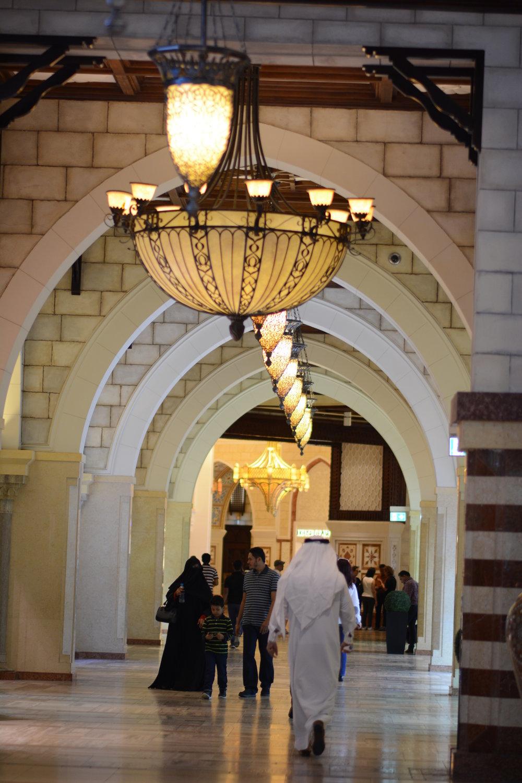 Suq w Dubai Mall.
