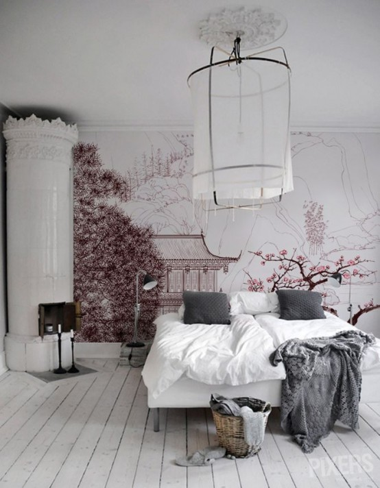 Cherry blossom inspired interior