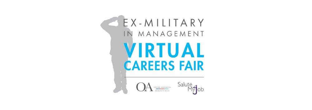 ex-military in management virtual careers fair