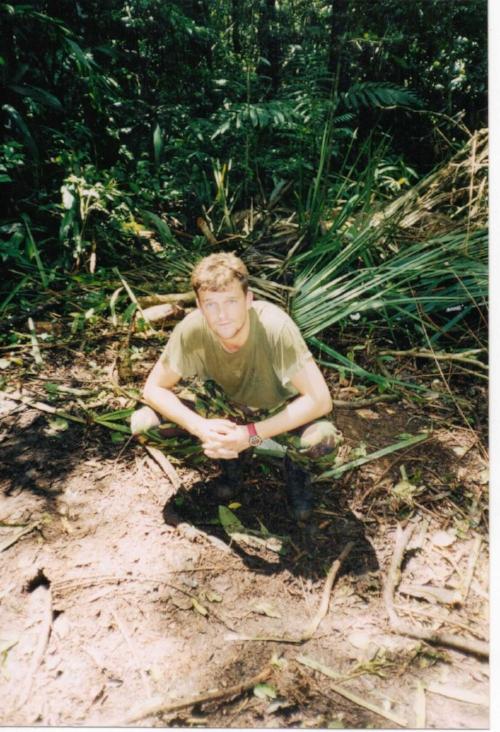 Carl in the jungle