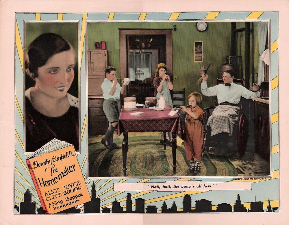 A still from the 1925 film based on the book.