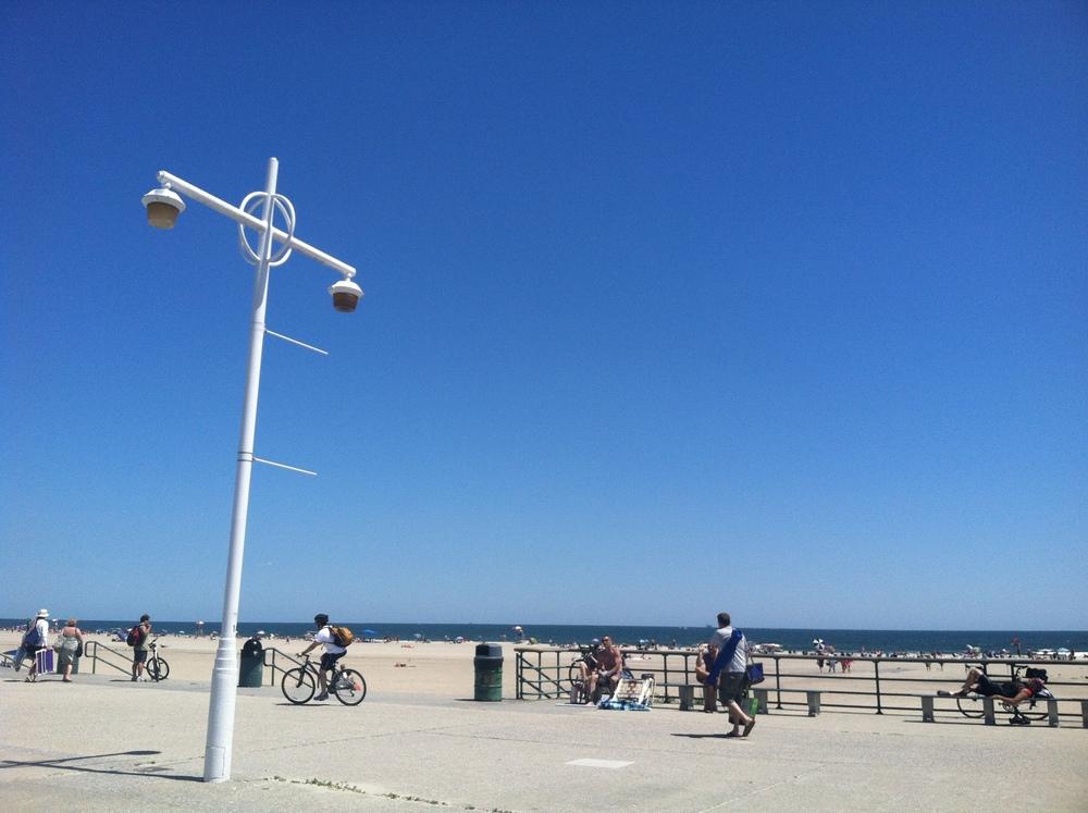 Rockaway Beach in July