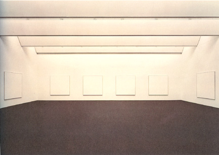 Martin's 1979 Islands series at the Joseph Albers Museum in Bottrop, Germany.