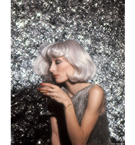 Angelica Huston styling by Ara Gallant, 1976 via  Into the Gloss .