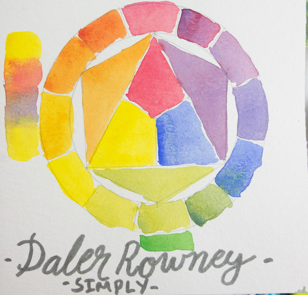 Daler Rowney Simply - Color Circle