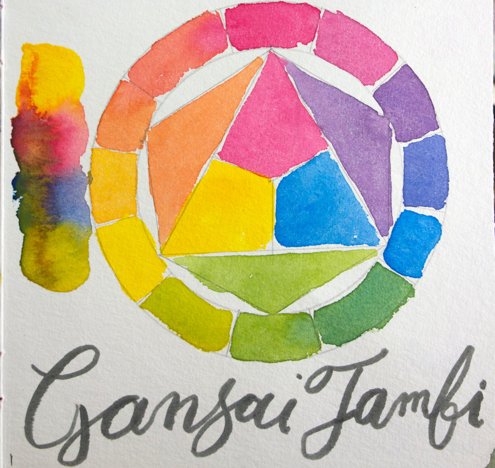 Kuretake Gansai Tambi Color Wheel