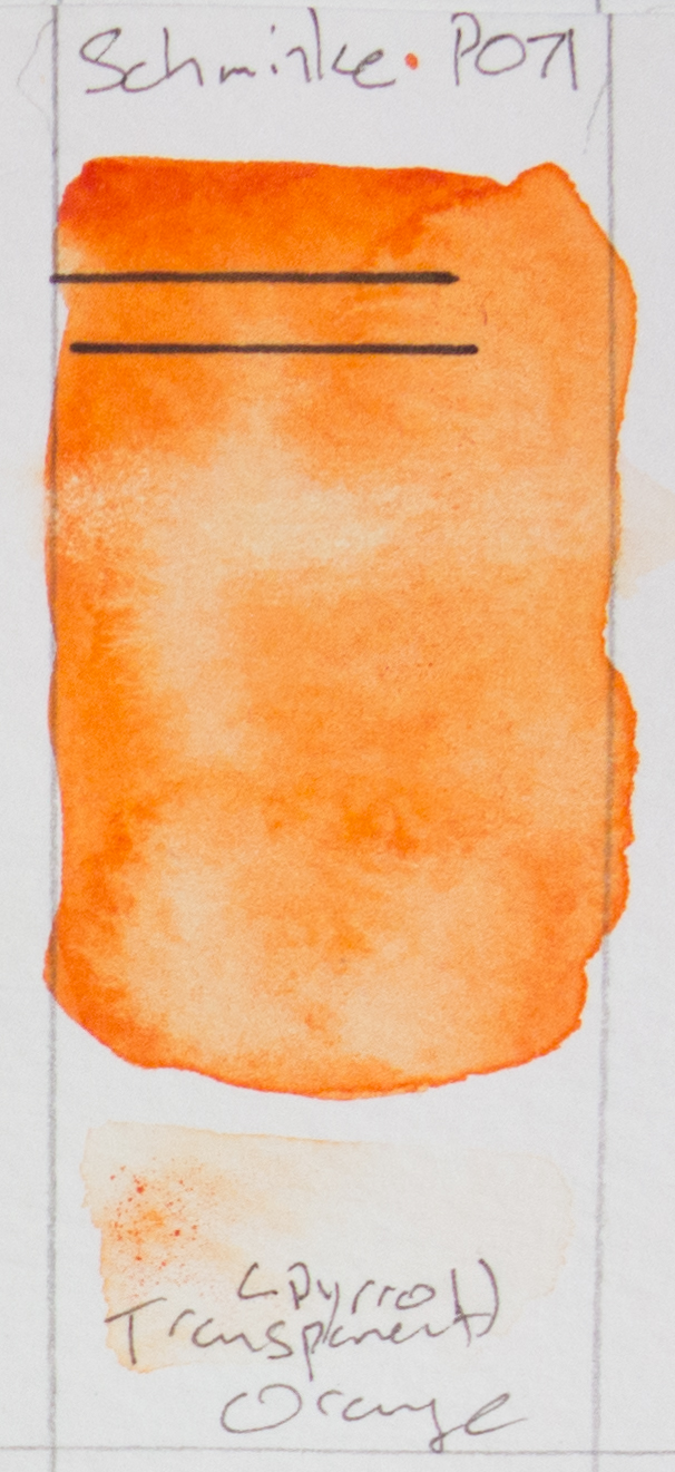 Transparent Pyrrol Orange - Schmincke - PO71