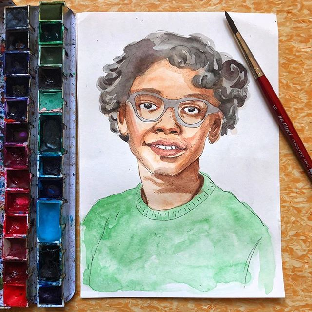 "#ClaudetteColvin is one of the  people responsible for the desegregation of busses in Alabama. She refused to give up her seat to a white woman and was forced off of the bus she was riding. ""My mother told me to be quiet about what I did. She told me to let Rosa be the one: white people aren't going to bother Rosa, they like her"" But she didn't stay quiet. Colvin and 4 other women were plaintiffs in the case #BrowdervGayle that eventually led to this segregation being declared unconstitutional. Unfortunately, because of her social status, Colvin is often overlooked for her contributions to the #civilrightsmovement. ""All we want is the truth, why does history fail to get it right?"" Colvin's sister, Gloria Laster, said. ""Had it not been for Claudette Colvin, Aurelia Browder, Susie McDonald, and Mary Louise Smith there may not have been a Thurgood Marshall, a Martin Luther King or a Rosa Parks."" Having more fun with #inkandwatercolor (Btw is anyone planning on doing #oneweek100people in March? I am but I'm nervous!) • • • • • #blackhistory #forgottenhistory #blackhistorymonth #inkandwash #penandwatercolor #line #illustrator #illustratorsoninstagram #illustratedwomen #watercolor"