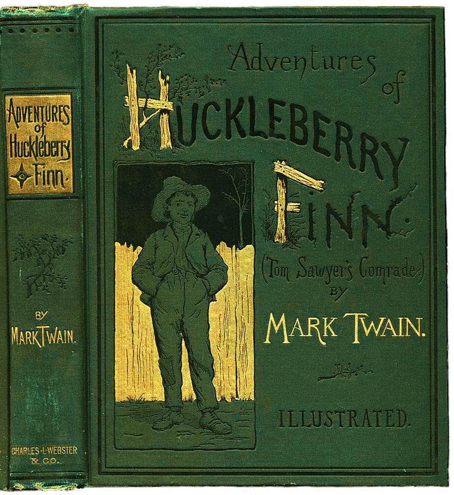 Huck Finn's 1st edition