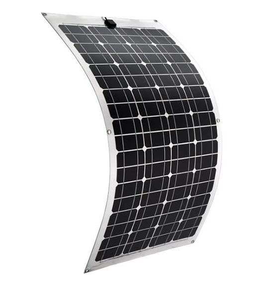 Ecosun 50 Watt Flexible Monocrystalline 18v Photovoltaic