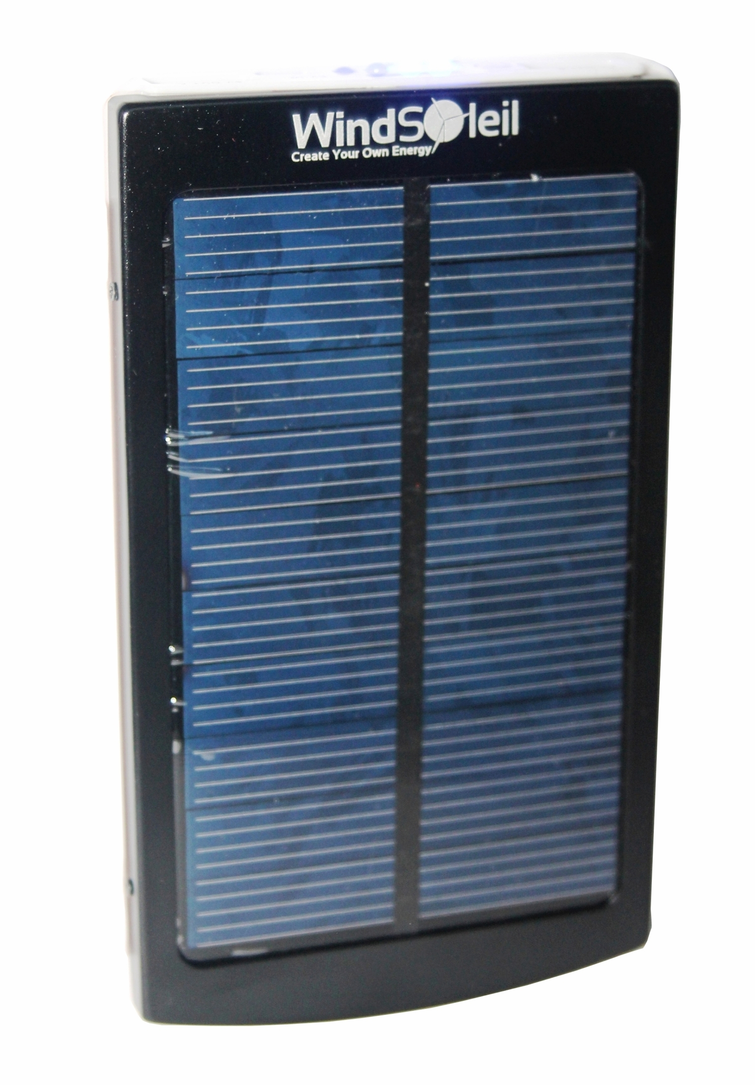 Solar Panel Battery Bank >> Windsoleil Wala Solar Power 10000mah Portable Battery Bank Charger