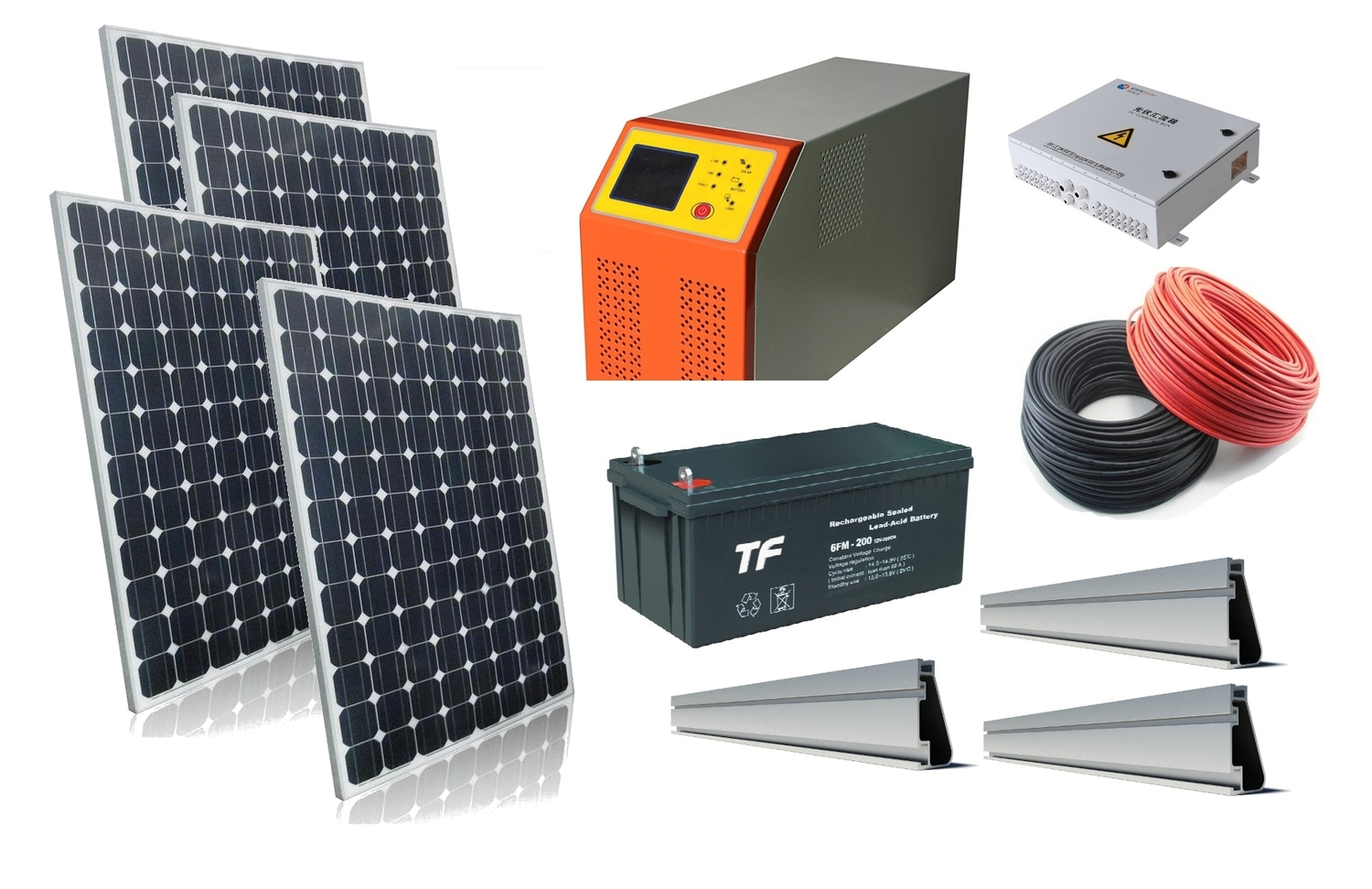 Windsoleil 104kw Solar Power Off Grid System And With Panel Bypass Schematic