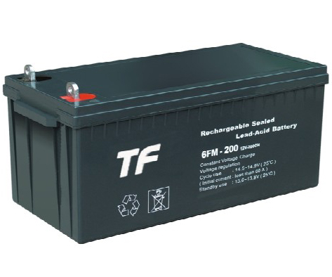TF 12V/200AH Fully Sealed Solar Power Lead Acid Battery
