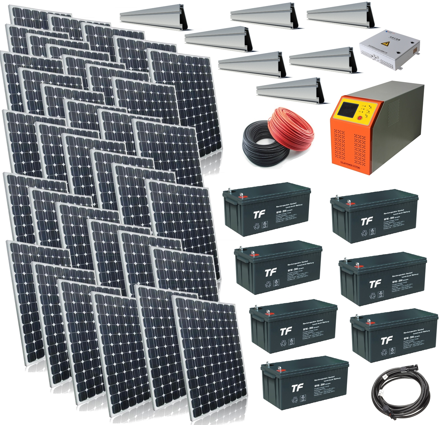 Windsoleil 832kw Solar Power Off Grid System And With Panel Bypass Schematic