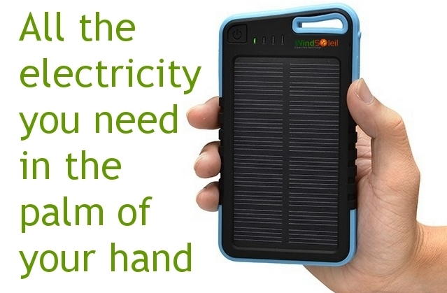 What is a Portable Solar Power Charger  WindSoleil Solar and Wind Energy f7a715b2cc03