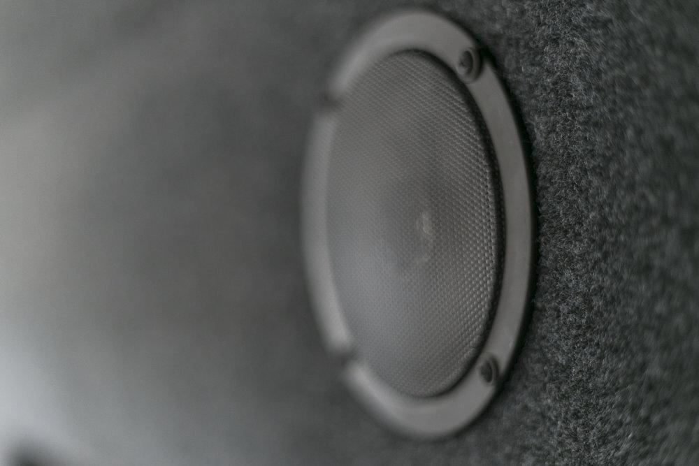 Rear Sound System