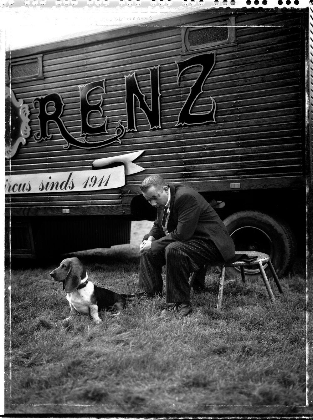 Jan, Circus Herman Renz, portretten in de coulissen van de laatste circusjaren,2012