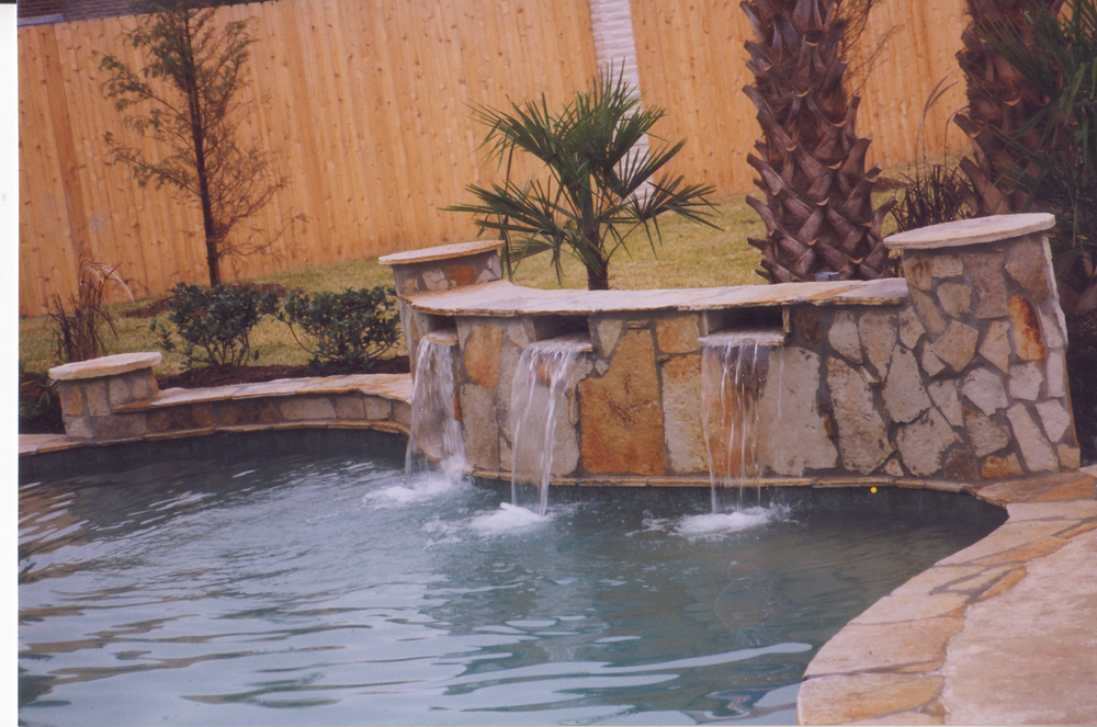 Scuppers -  Decorative accents, add style and elegance to any pool.
