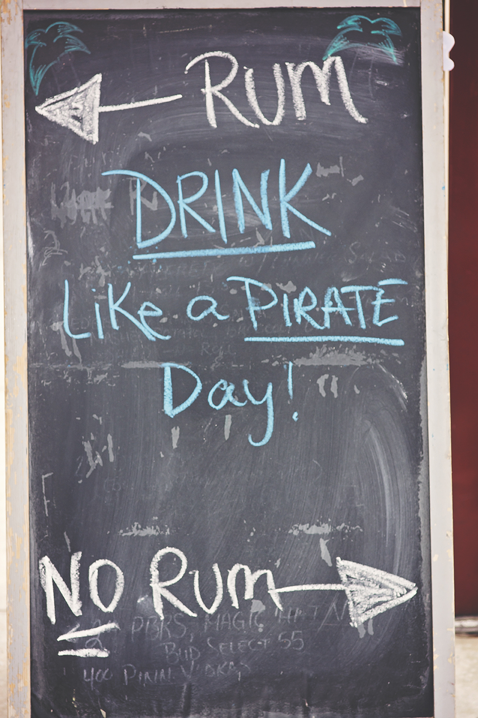 Drink like a pirate at the Lost Parrot