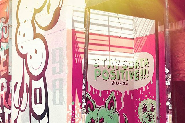 Stay sorta positive. ⠀ ⠀ Thanks for the reminder, @lurissu. ⠀ ⠀ #htxvibes #htx #eado #DTHTX #thisishouston⠀