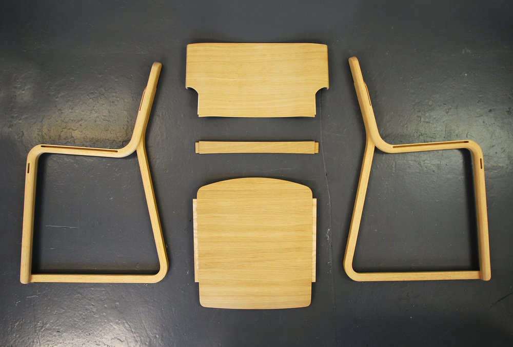 Components   of Theo chair