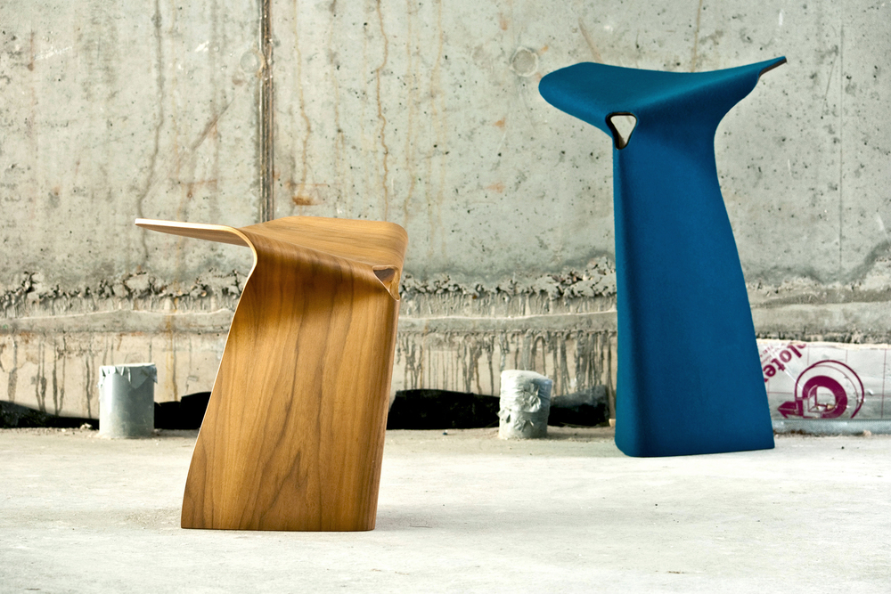 Zhi stool design by Simon Pengelly