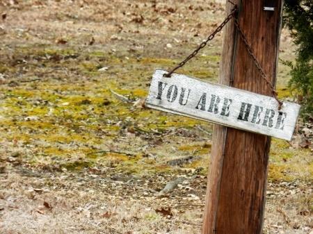 Du er her