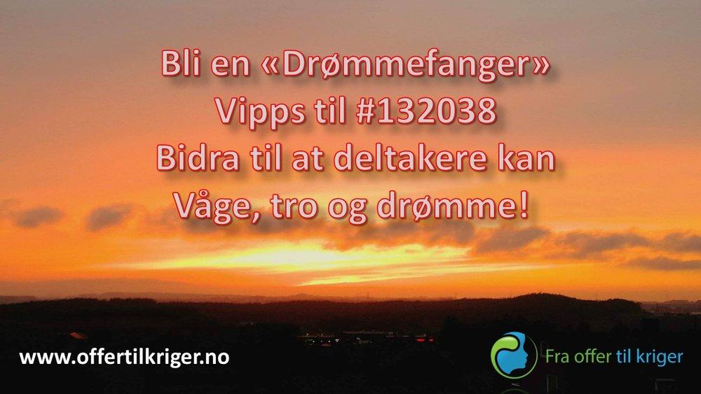 Vil du bli Drømmefanger? Les mer her: http://www.offertilkriger.no/kurs/pen-dag-p-lukket-avdeling