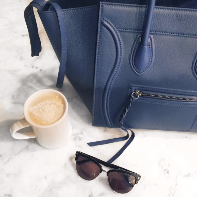 My favorite blue bag