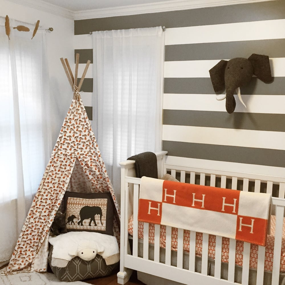 A few changes make MM's room just a touch more tribal