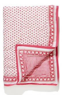 Roberta Roller Rabbit Valentine's Heart Blanket