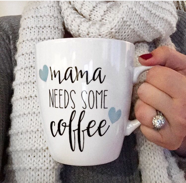 Mommy Needs Coffee Lilies And Lambs