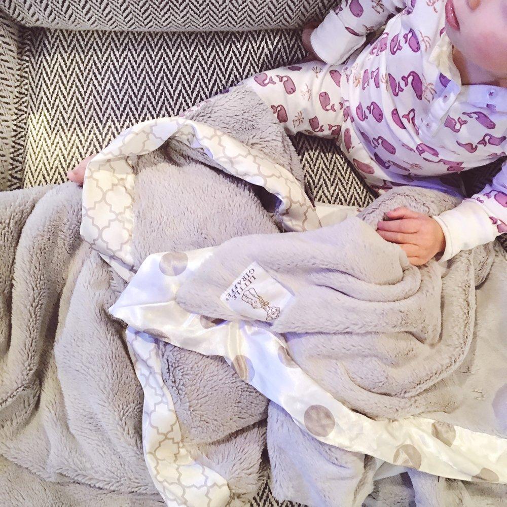 Little Giraffe Baby Blanket