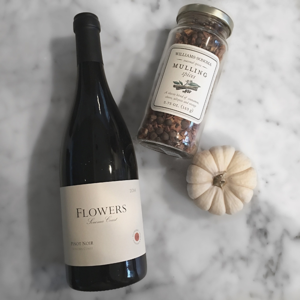Flowers Pinot Williams Sonoma Mulling Spices