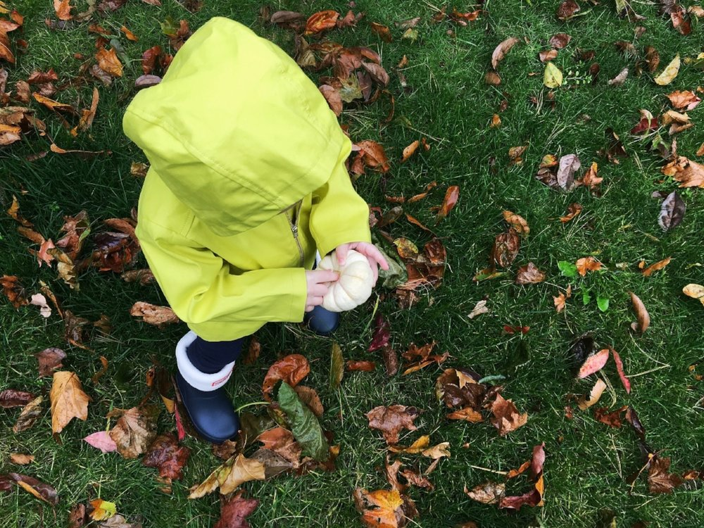 Bonpoint Rain Coat Hunter Boots