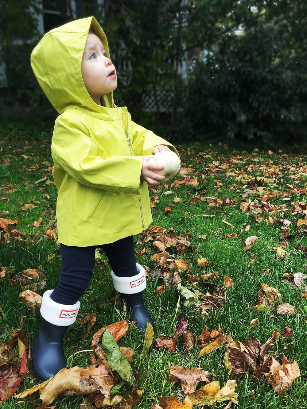 Bonpoint Rain Coat Hunter Rain Boots