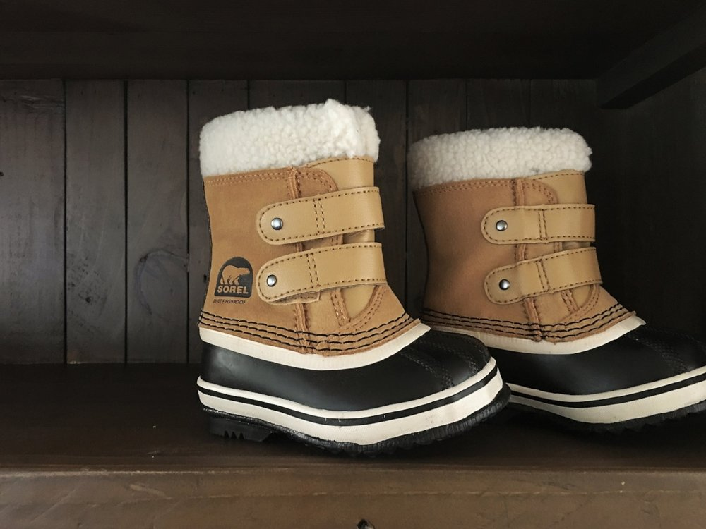 {Baby Sorel Snow Boots found here}