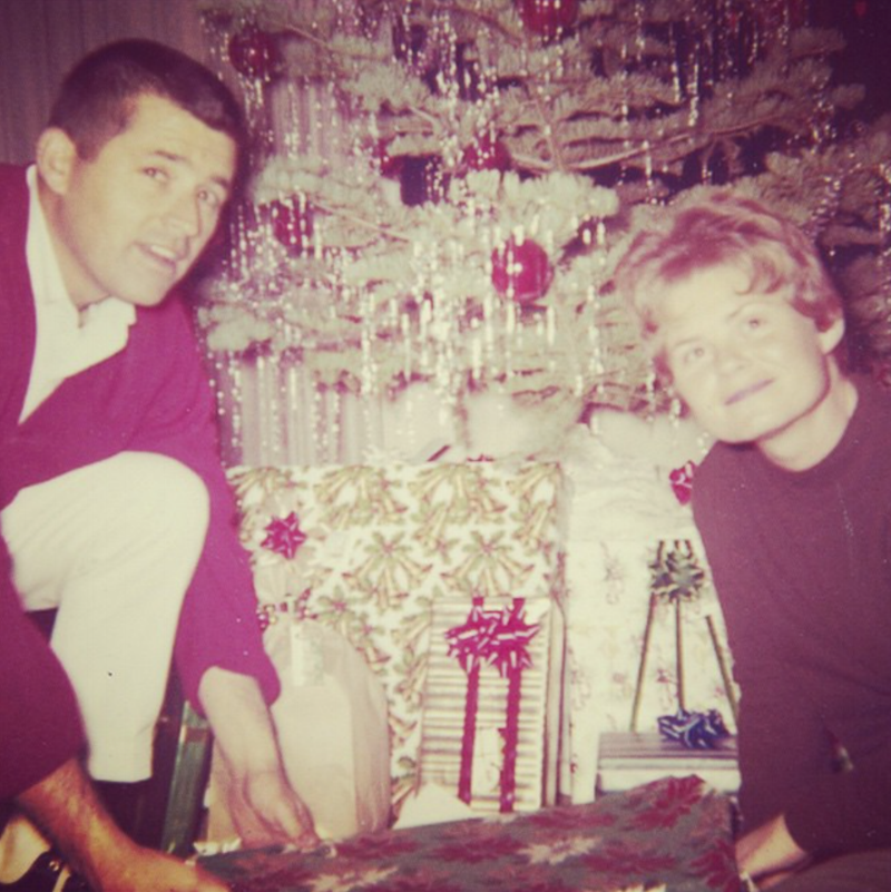 Vintage Christmas Lilies and  Lambs