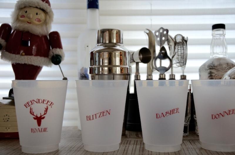 Reindeer Roadie Cups Lilies and Lambs