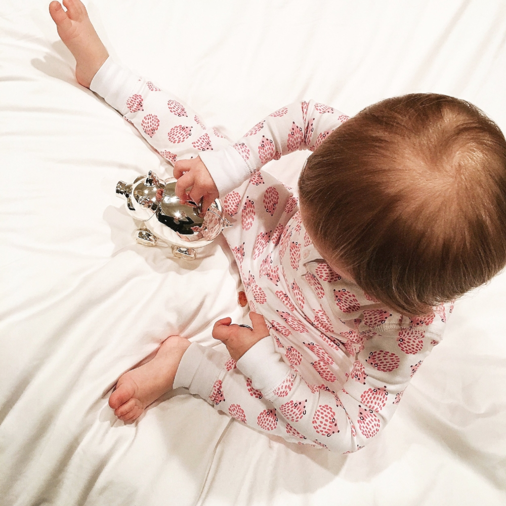 Roberta Roller Rabbit Lilies and Lambs