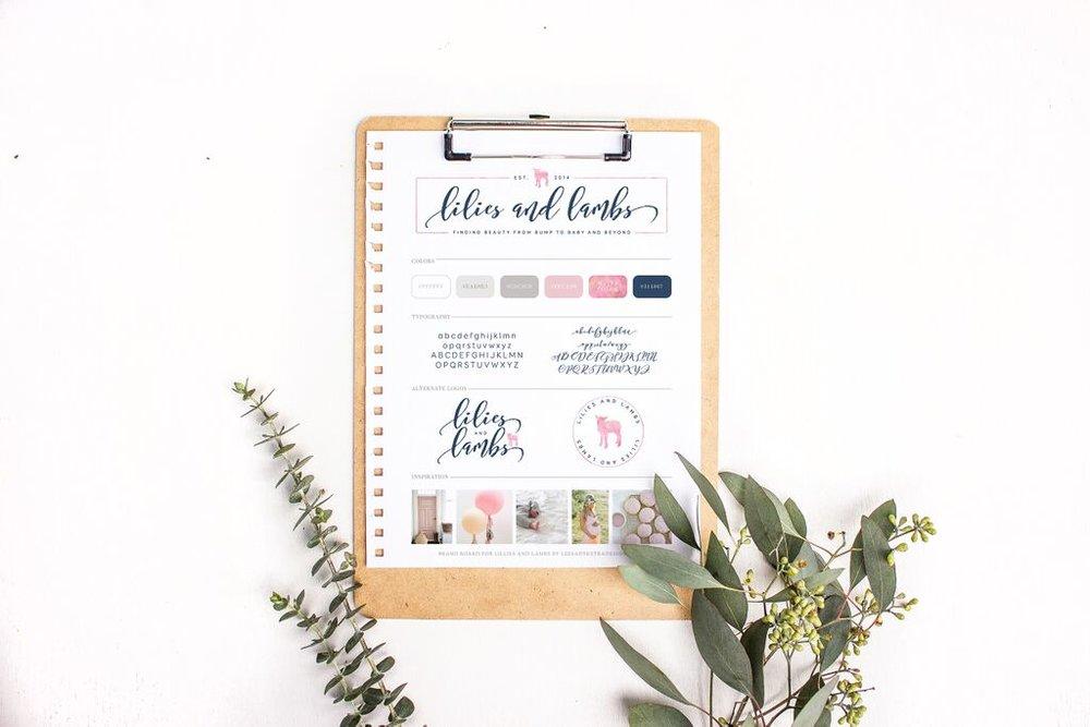 Leesa Dykstra Designs Lilies and Lambs