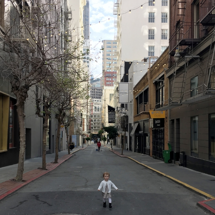 { Maiden Lane, San Francisco  }
