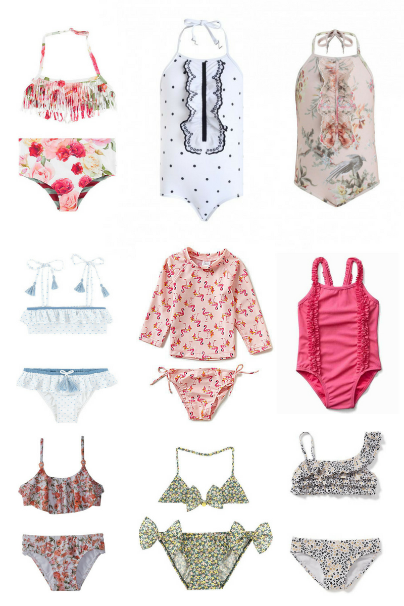 Baby Girl Swim Suits Lilies and Lambs